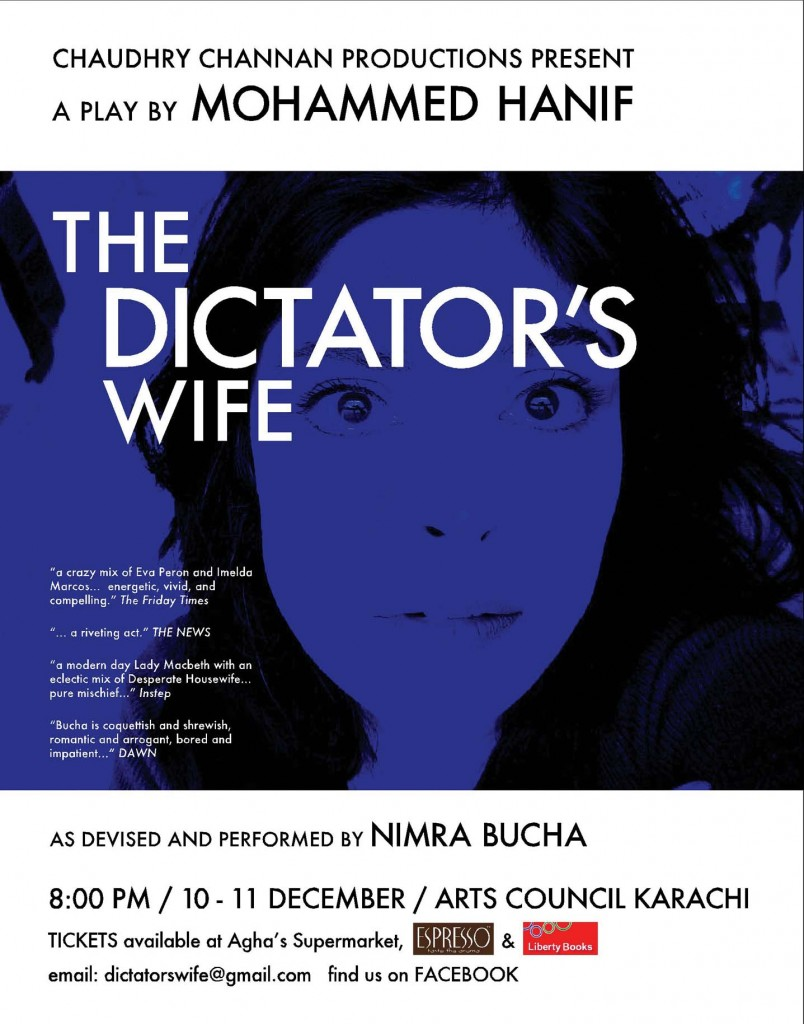 The dictators wife returns!