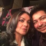 With Pooja Bhatt